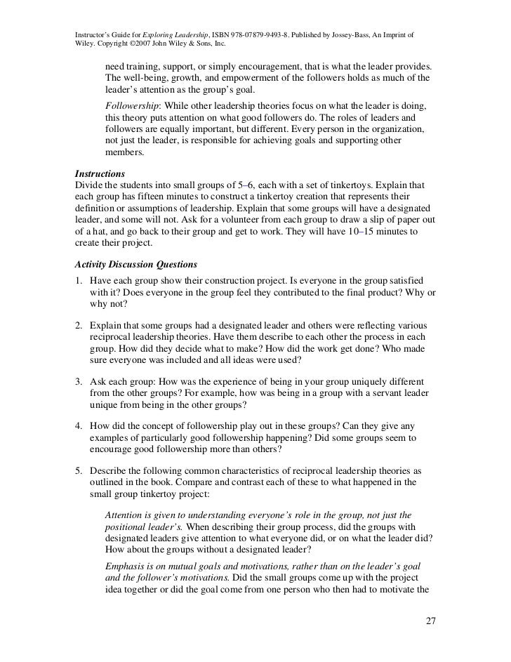History Of English Essay What Are Some Of Your Leadership Experiences Exploring Leadershipii  Instructorsguide  Essay Writing Examples For High School also Good Proposal Essay Topics What Are Some Of Your Leadership Experiences  Tirevi  Examples Of Argumentative Thesis Statements For Essays
