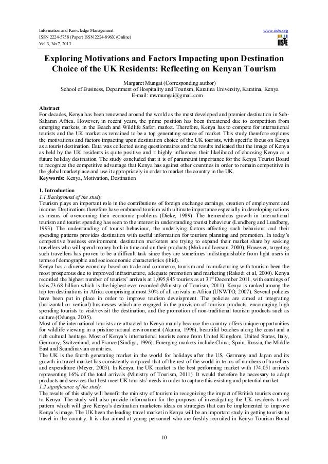 Information and Knowledge Management www.iiste.org ISSN 2224-5758 (Paper) ISSN 2224-896X (Online) Vol.3, No.7, 2013 10 Exp...