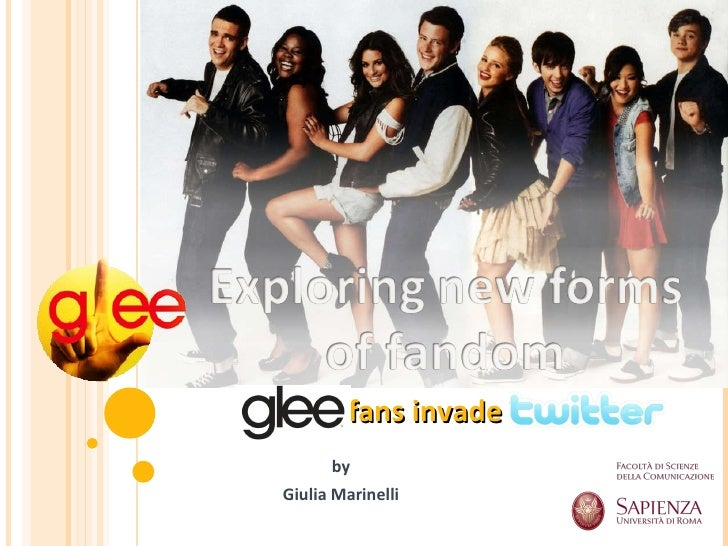 Glee fans invade Twitter by Giulia Marinelli