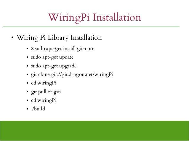exploring raspberry pi rh slideshare net wiringpi install ubuntu wiringpi install linux