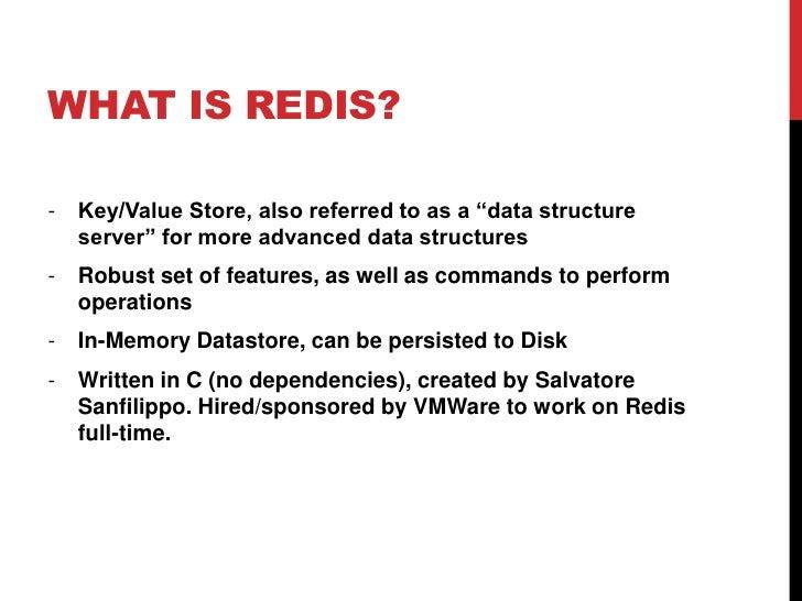 Exploring Redis Slide 2