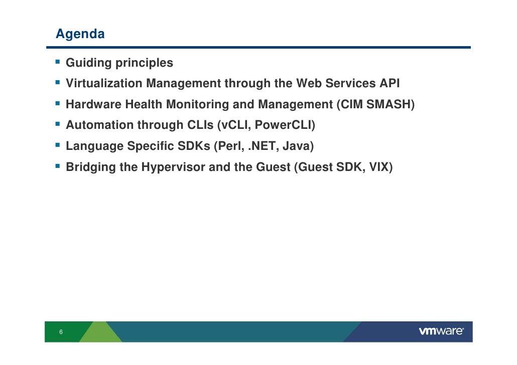 Exploring VMware APIs by Preetham Gopalaswamy