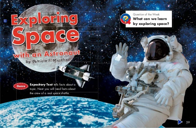 EXPLORING SPACE WITH AN ASTRONAUT EBOOK