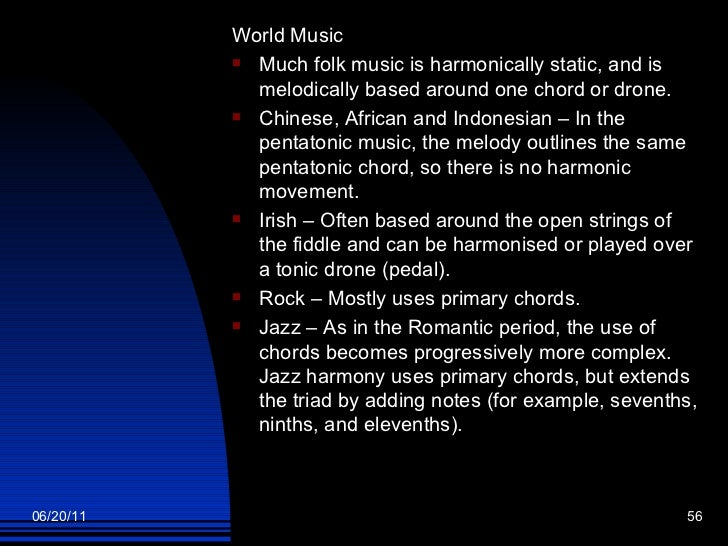 what are the elements of music and their definition