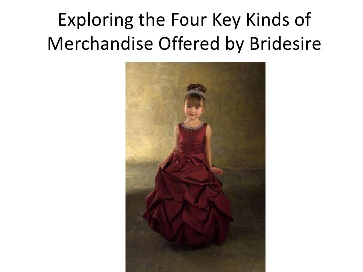 Exploring the Four Key Kinds ofMerchandise Offered by Bridesire