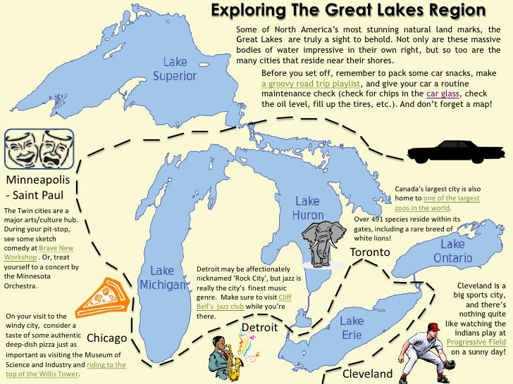 Exploring The Great Lakes Region                                                     Some of North America's most stunning...
