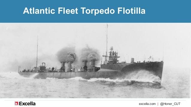 excella.com | @Honer_CUT Atlantic Fleet Torpedo Flotilla