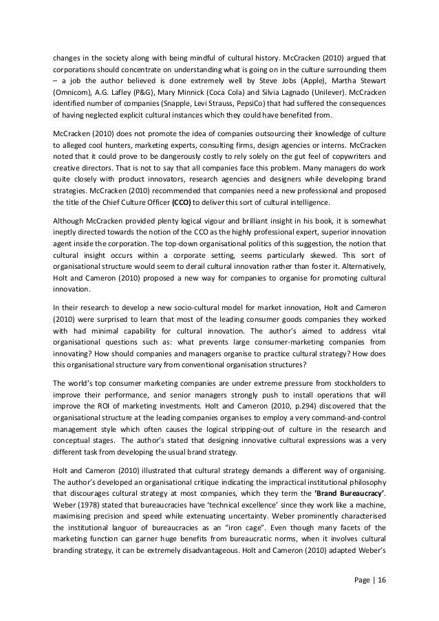 chief culture officer grant mccracken pdf