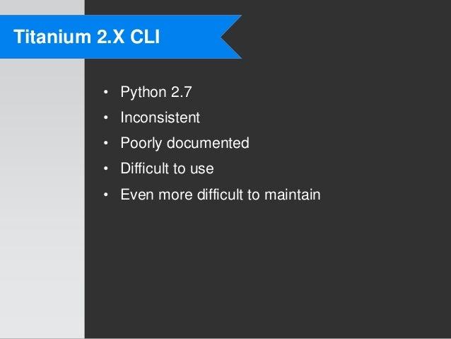Exploring the Titanium CLI - Codestrong 2012