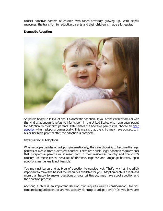 exploring your options and different types of adoption4