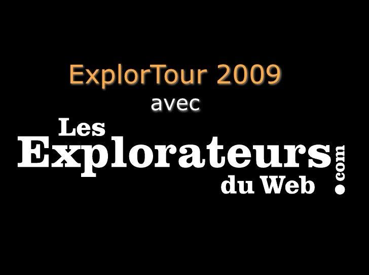 ExplorTour 2009      avec