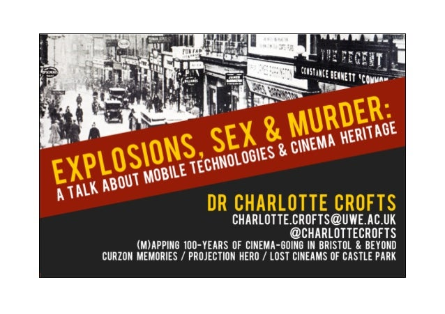 """'""""Old Wine in New Bottles"""":Researching Cinema Heritage Through Pervasive Media'      Dr Charlotte Crofts   University of t..."""