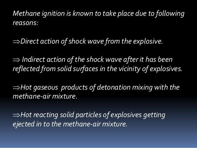 Explosives and blasting in underground coal mining  Slide 3