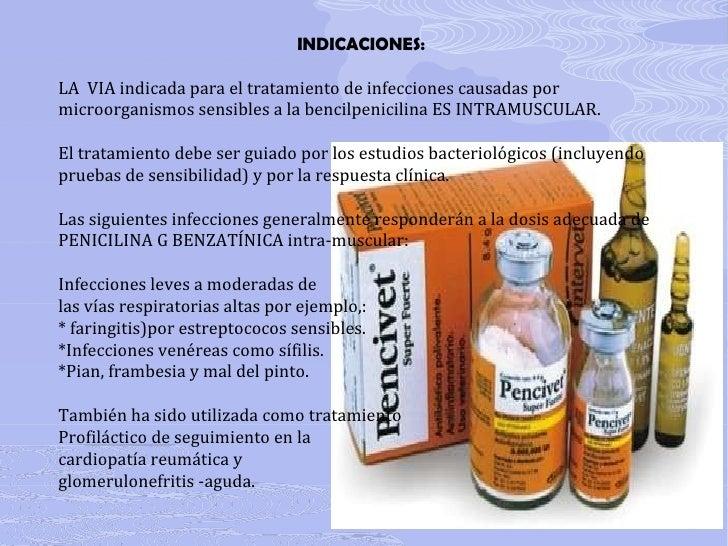 Penicilinas for Combinaciones y dosis en la preparacion de la medicina natural