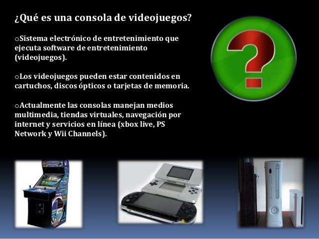 consolas de videojuegos y sus caracteristicas