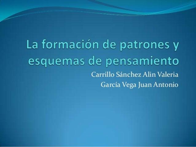Carrillo Sánchez Alin Valeria   García Vega Juan Antonio