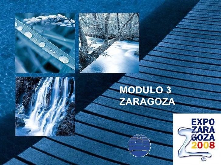 MODULO 3 ZARAGOZA