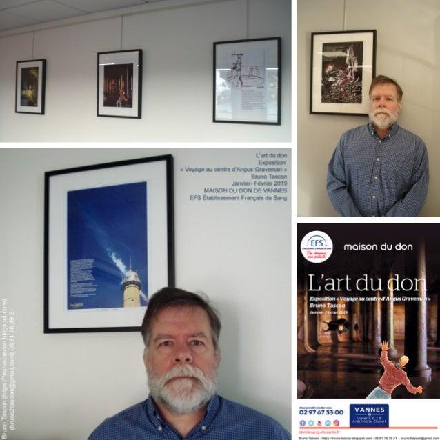 L'art du don (Expo) : Janvier - Février 2019 :  MAISON DU DON DE VANNES