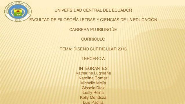 Dise o curricular 2016 del ecuador for Diseno curricular nacional 2016 pdf