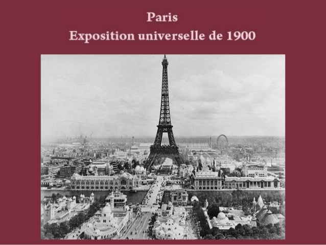 Expo Universelle 1900 Slide 2