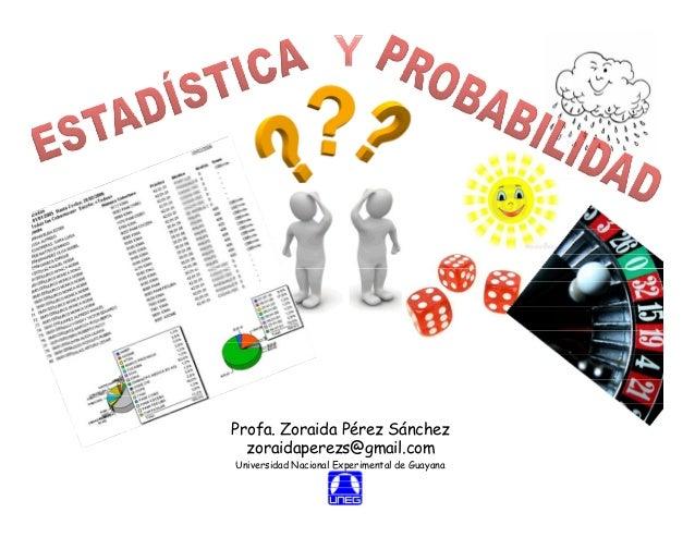 ESTADISTICA Y PROBABILIDAD- EXPO 1