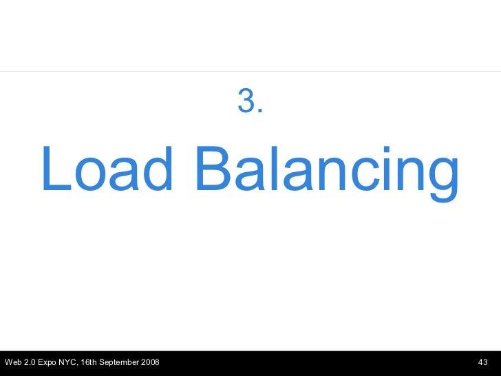 <ul><li>3. </li></ul><ul><li>Load Balancing </li></ul>