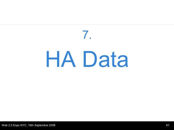 <ul><li>7. </li></ul><ul><li>HA Data </li></ul>