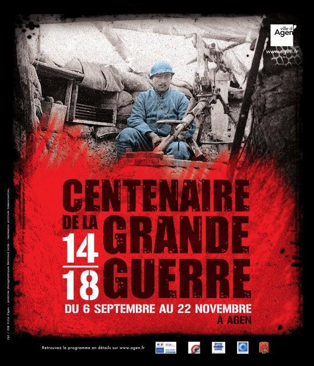 Centenaire de la Grande Guerre 14-18