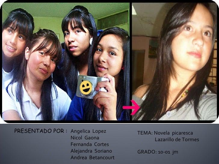 PRESENTADO POR : Angelica  Lopez Nicol  Gaona Fernanda  Cortes Alejandra  Soriano Andrea  Betancourt GRADO: 10-01  jm TEMA...