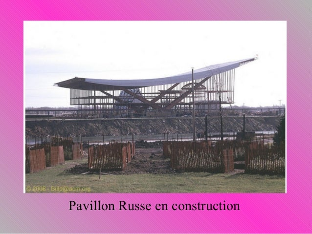 Expo 67 for Construction pavillon