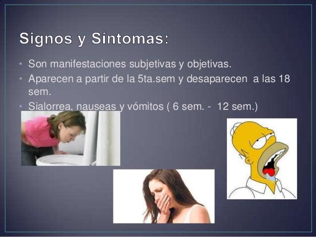 • Fatiga, irritabilidad modificaciones del carácter • Mareos, lipotimias, palpitaciones, etc.