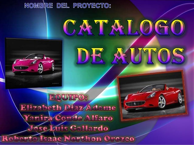 Expocarrera 2011 catalogo de autos