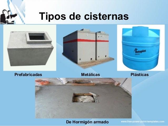 Equipos de bombeo y obras auxiliares for Cisternas de cemento