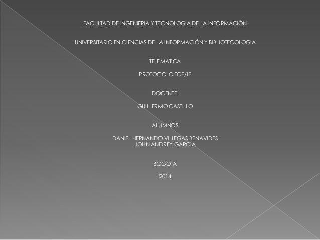 FACULTAD DE INGENIERIA Y TECNOLOGIA DE LA INFORMACIÓN UNIVERSITARIO EN CIENCIAS DE LA INFORMACIÓN Y BIBLIOTECOLOGIA TELEMA...