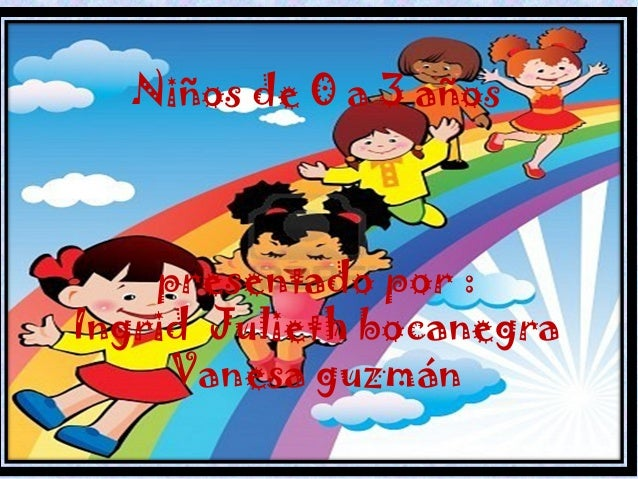 Niños de 0 a 3 años presentado por : Ingrid Julieth bocanegra Vanesa guzmán
