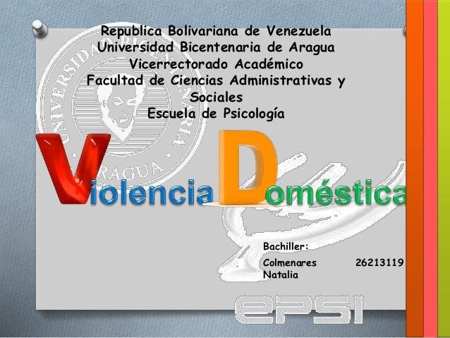 Republica Bolivariana de Venezuela Universidad Bicentenaria de Aragua Vicerrectorado Académico Facultad de Ciencias Admini...