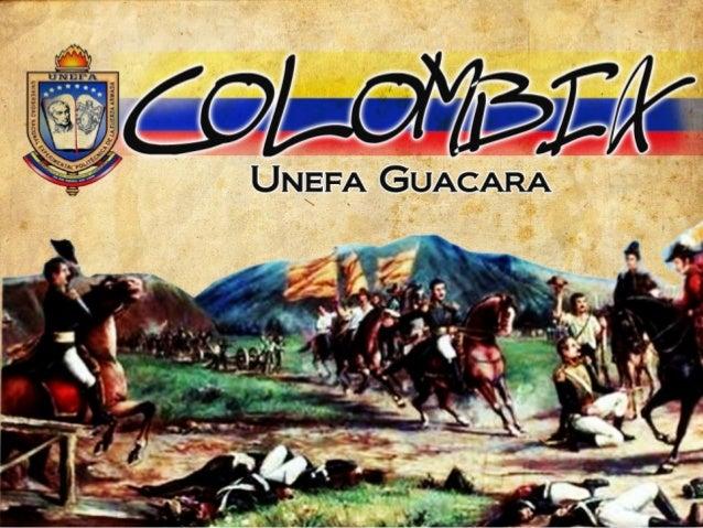El nombre de Colombia fue concebido por el venezolano Francisco de Miranda paradenominar la unión de las actuales repúblic...