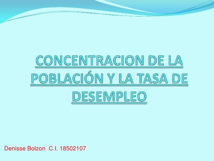 Denisse Bolzon C.I. 18502107