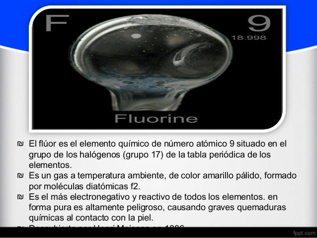 El fluor el florsal moscoso borjatele 1 2 el flor es el elemento urtaz Choice Image