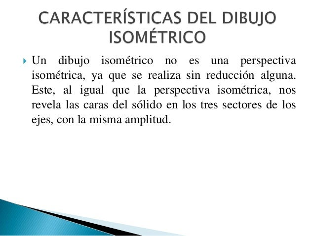 Expo dibujo isometrico for Cuales son las caracteristicas de un mural