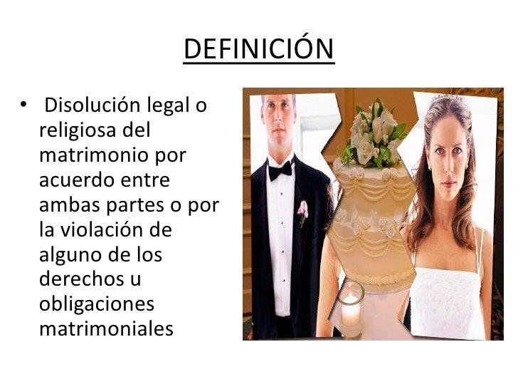 En El Matrimonio Catolico Hay Divorcio : Etapas tipos de divorcio