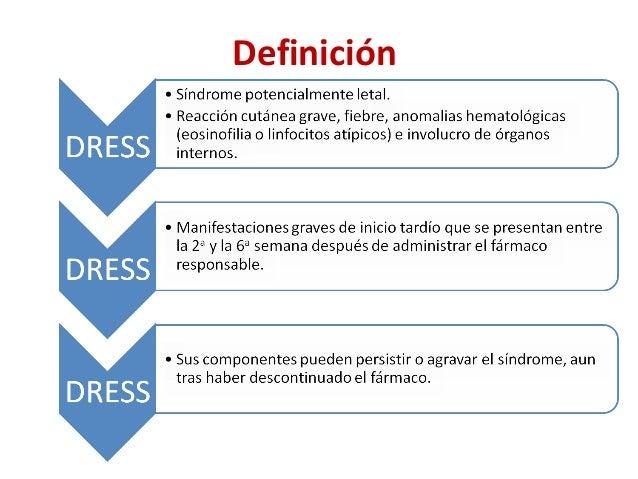 Sindrome de DRESS (Dermatología) Slide 2