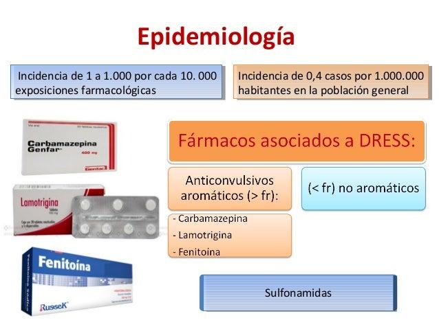Sindrome de DRESS (Dermatología) Slide 3