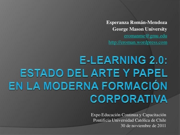 Esperanza Román-Mendoza           George Mason University                  eromanme@gmu.edu         http://eroman.wordpres...