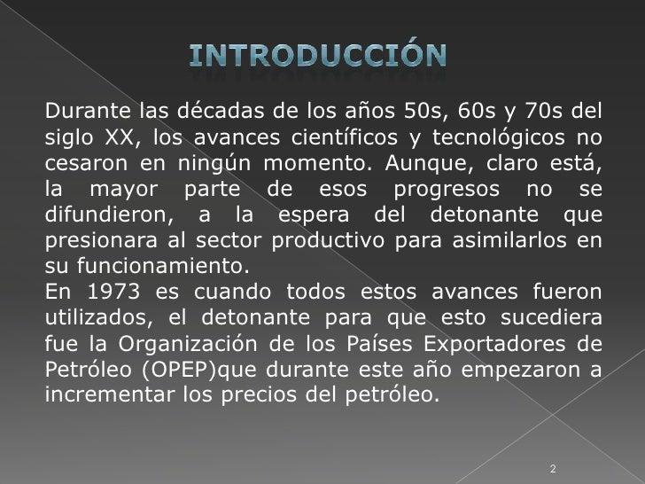 tercera revolucion industrial Slide 2