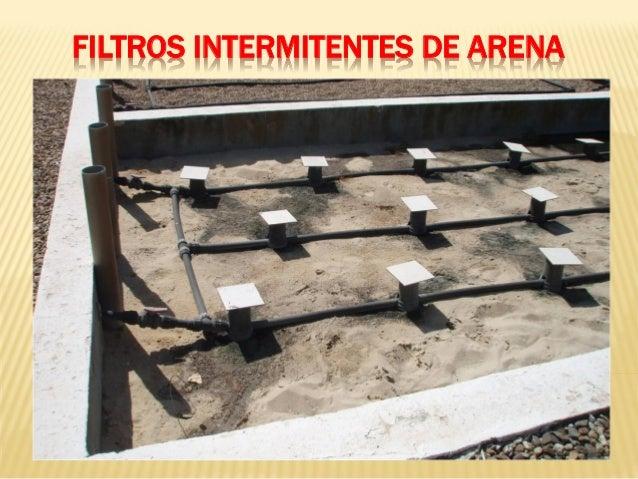 Filtros intermitentes de arena - Filtro de arena ...