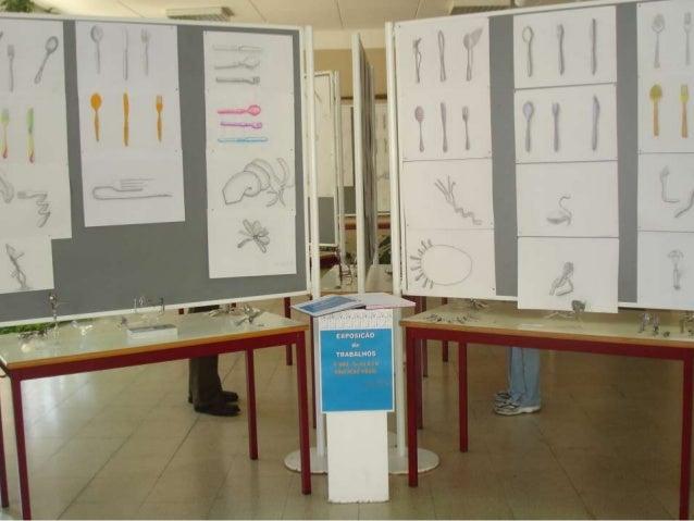 Expo garfos 9º ano ESGM
