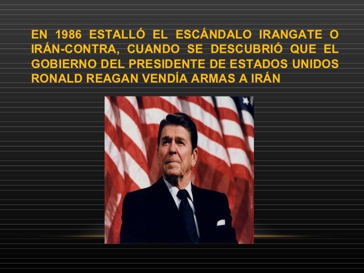 Resultado de imagen para Fotos de Ronald Reagan asume la responsabilidad del escándalo Irán-Contra
