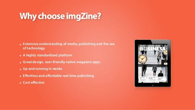 imgZine real time social magazines Slide 2