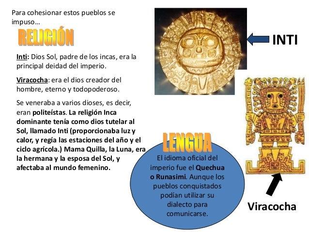 Periodo incaico imperio inca - Escuela oficial de idiomas inca ...